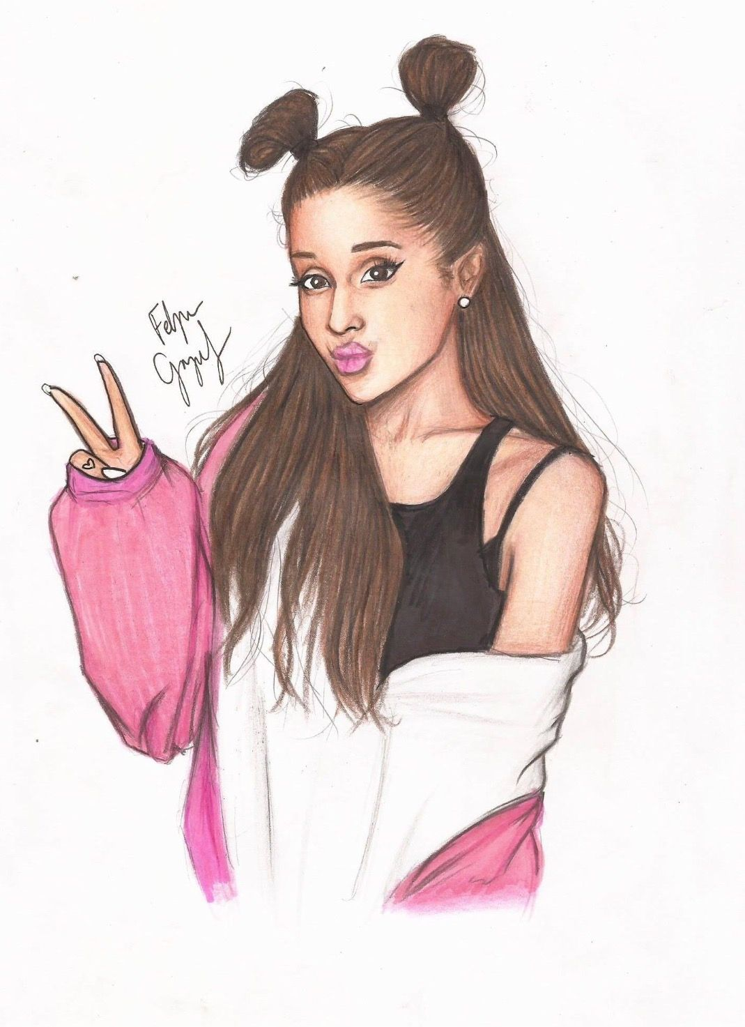 Ariana Grande I M Going To Be Famous Like Her And Use It To Spread