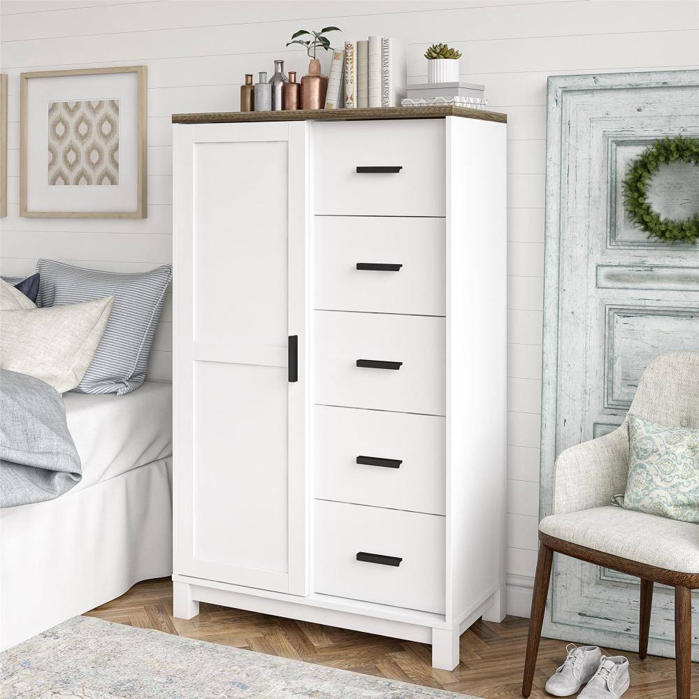 Ameriwood Home Bay Hills Gentlemen S Chest White Walmart Com White Chests Furniture Bedroom Essentials [ 1000 x 1000 Pixel ]