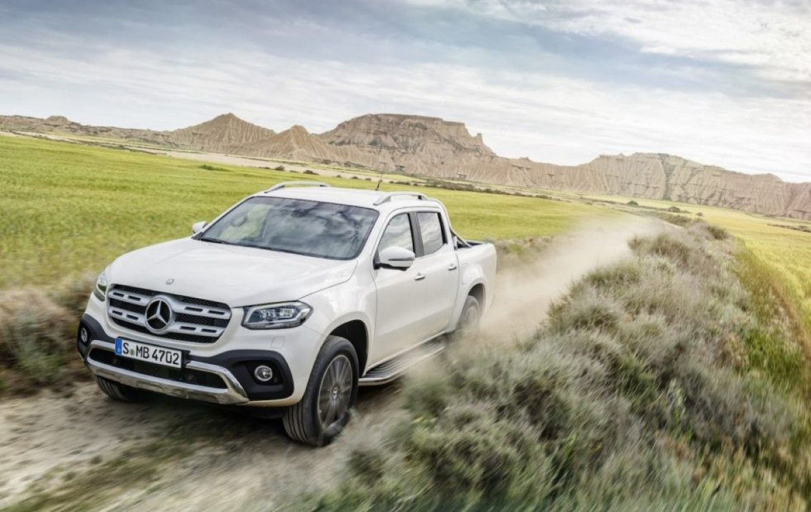 Mercedes Benz X Class Carbon 6x6 Would Be The Wildest Safety Car