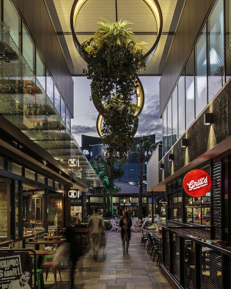 Westfield Garden City lighting design by Electrolight