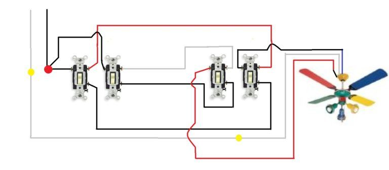 How To Wire Multiple Light Switches Diagram Electric bike kits