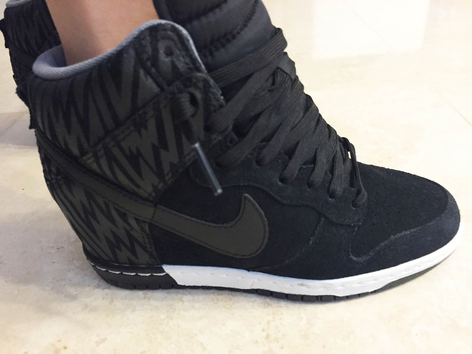 2015 0804 Nike Dunk Sky Hi Wedge Sneakers Black3AAnthracite3ACool Grey Side  Close.jpg (1600