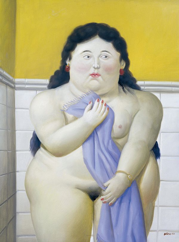 Famoso por pintar mulheres corpulentas, Botero nega obsessão por gordas