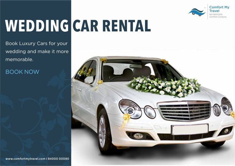 Book Luxury Car For Your Wedding And Make It More Memorable For Booking Call 8400000090 Luxurycar Marriage Carbooking Wedding Car Car Rental Car