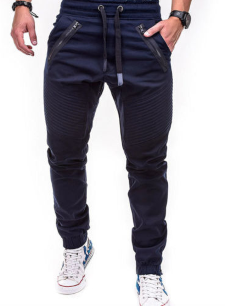 UK Mens Gym Slim Fit Trousers Tracksuit