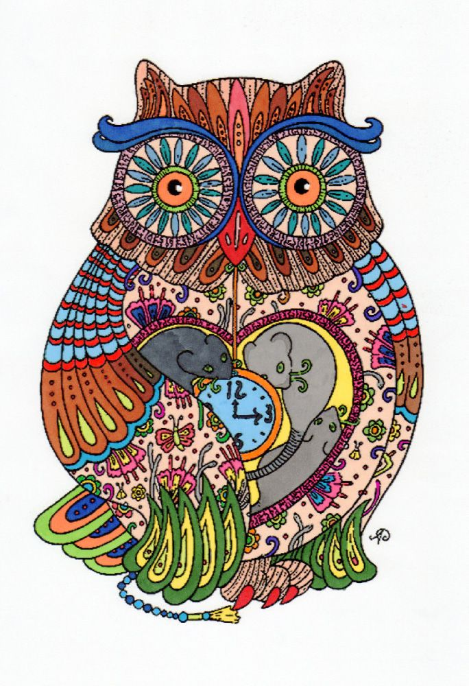Creation by Marcel, coloring page from the gallery Animal | Colored ...