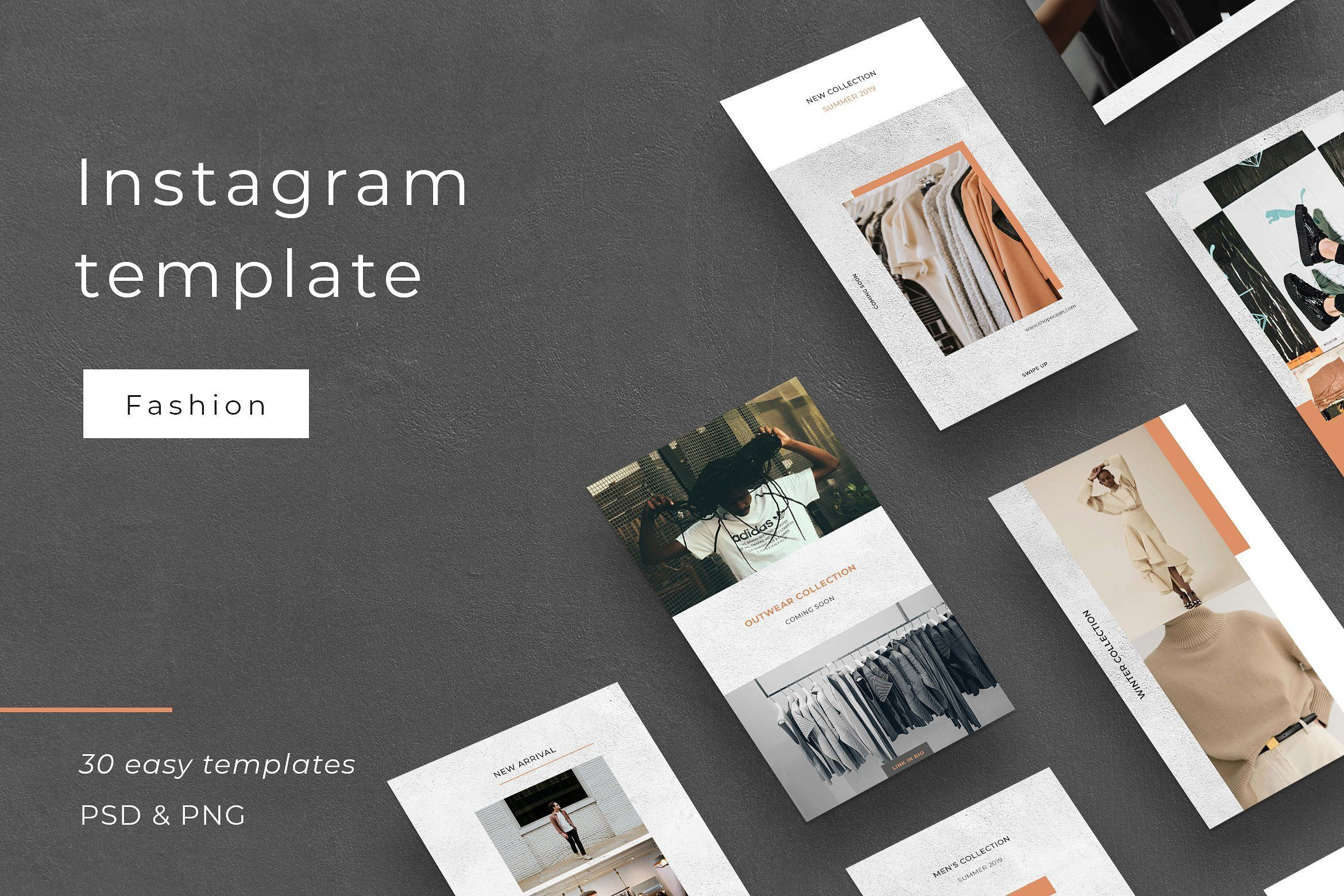 Outfit Social Media Template Instagram Template Social Media Template Instagram Story Template