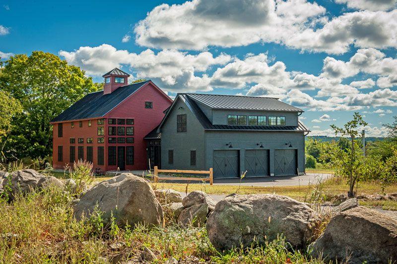 Bancroft Barn Home In 2020 Yankee Barn Homes Barn House Barn