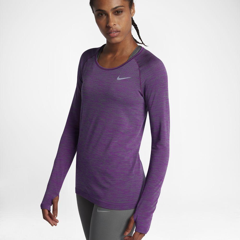 Nike DriFIT Knit Women's Long Sleeve Running Top Size