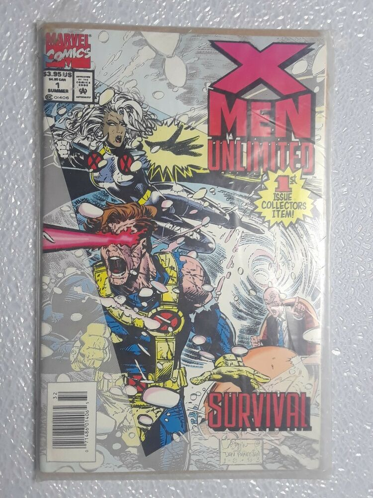 X Men Unlimited 1 Comic Book June 1993 Marvel Excellent Condition Free Shipping Comics Marvel Comic Book Superheroes