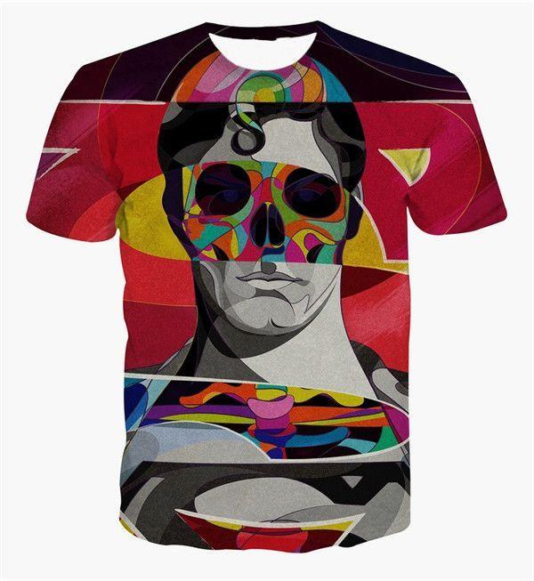 3D Printed Batman The Joker T-Shirt