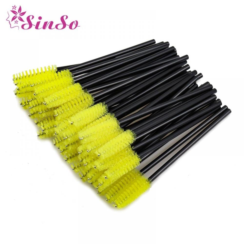 50Pcs Eyelash Brushes Makeup Brushes Disposable Mascara