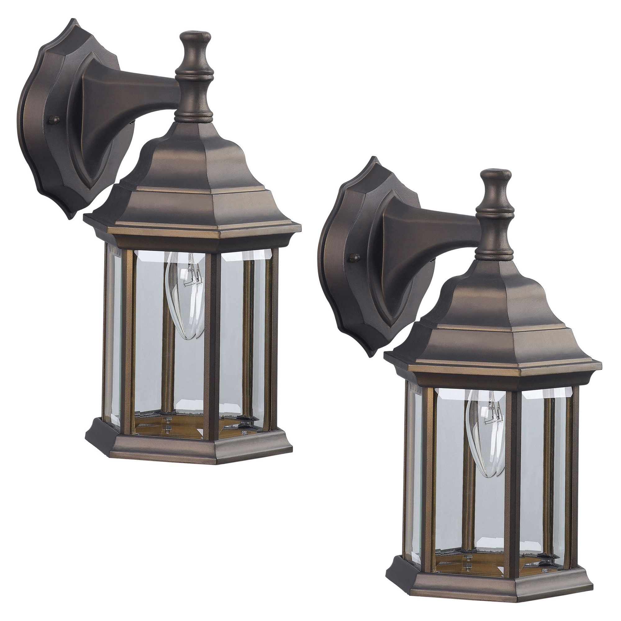bennington iol4orb 2 pack outdoor exterior lantern light fixture rh pinterest com