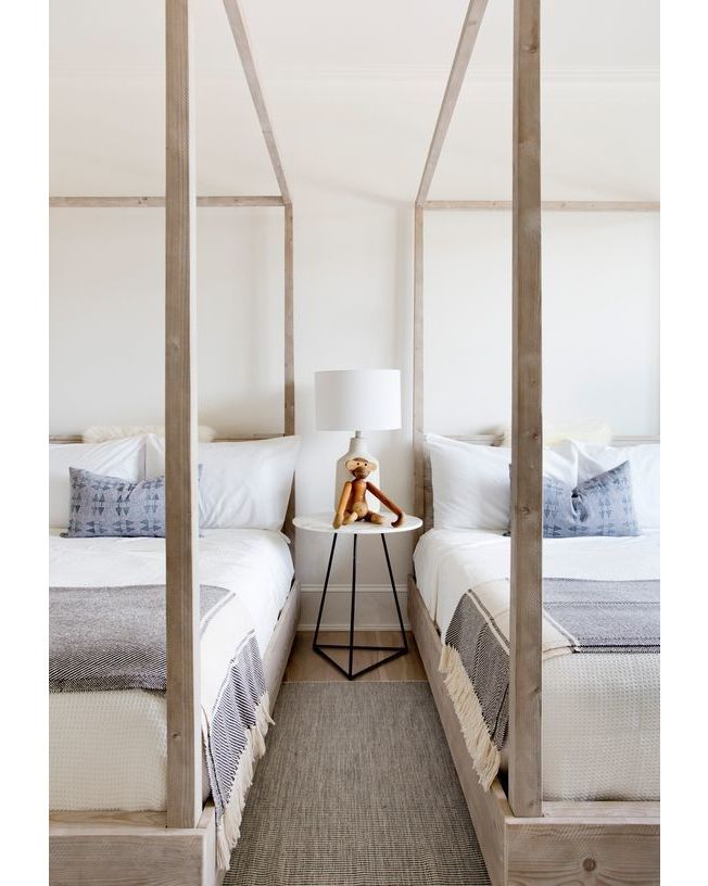 adore the soft colours and textures in this beautiful twin room rh pinterest com au