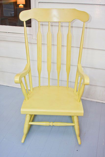 Before After Rocking Chair Revamp Painted Rocking Chairs