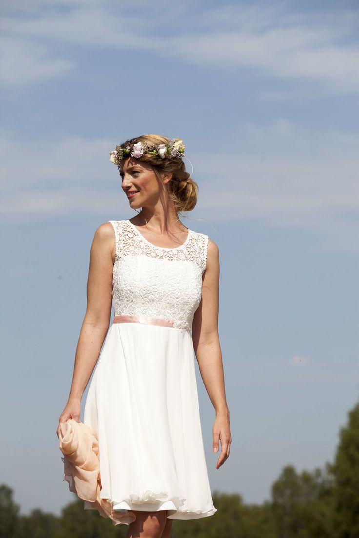 Standesamt Kleid Maria – Claudia Heller – Hochzeitskleid