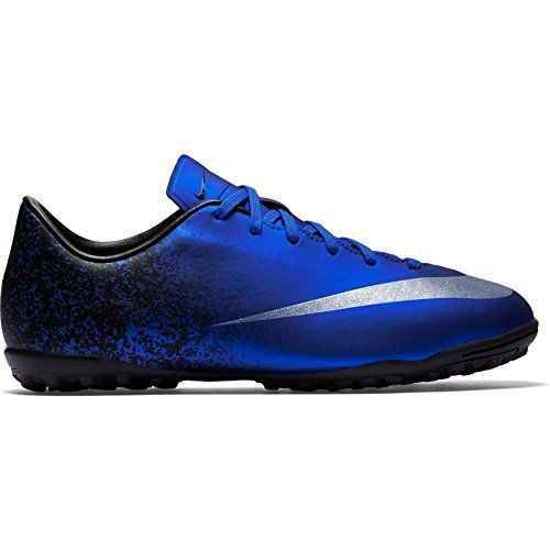 Nike Jr Victory V CR TF Turf Soccer Cleats 25Y Deep Royal Blue  Boise State Gear