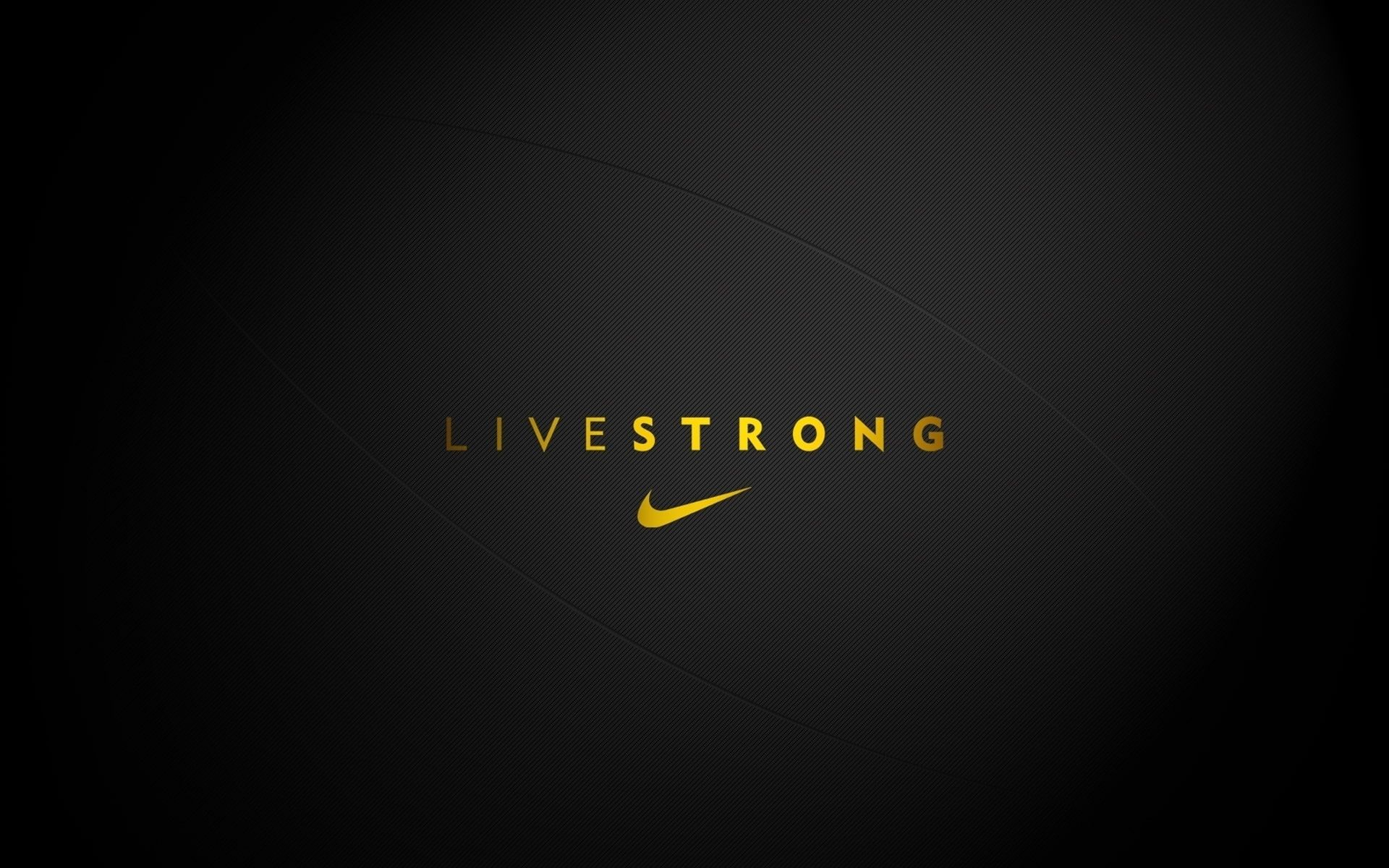 Live Strong Nike Brand Motto Logo Nike Background 1080p Wallpaper Hdwallpaper Desktop Nike Wallpaper Livestrong Black Nike Wallpaper