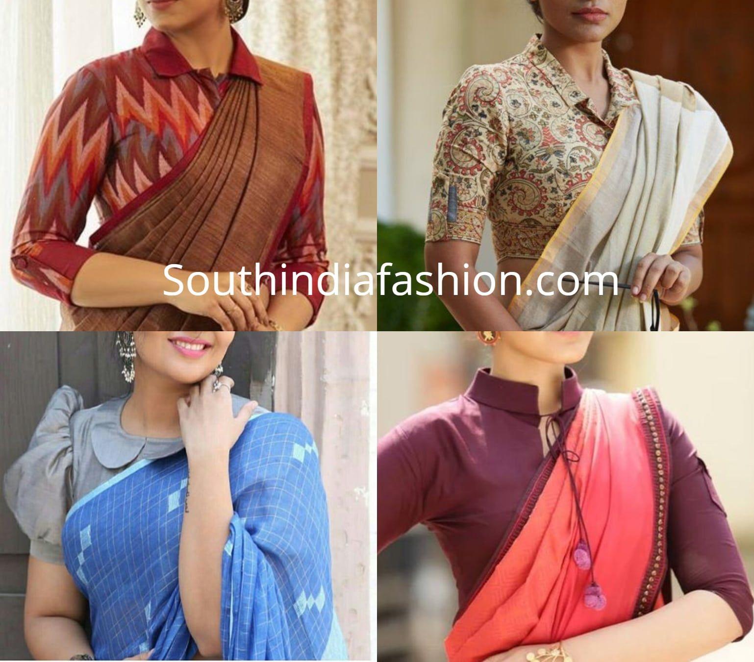 Pin By Ruchi Mahaur On Seamstress Saree Blouse Designs Blouse