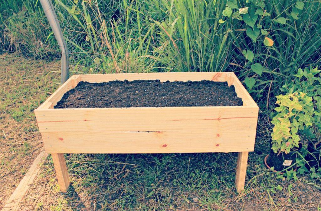Elevated Planter Box Kit Diy Raised Garden Raised Garden Beds Raised Garden Beds Diy