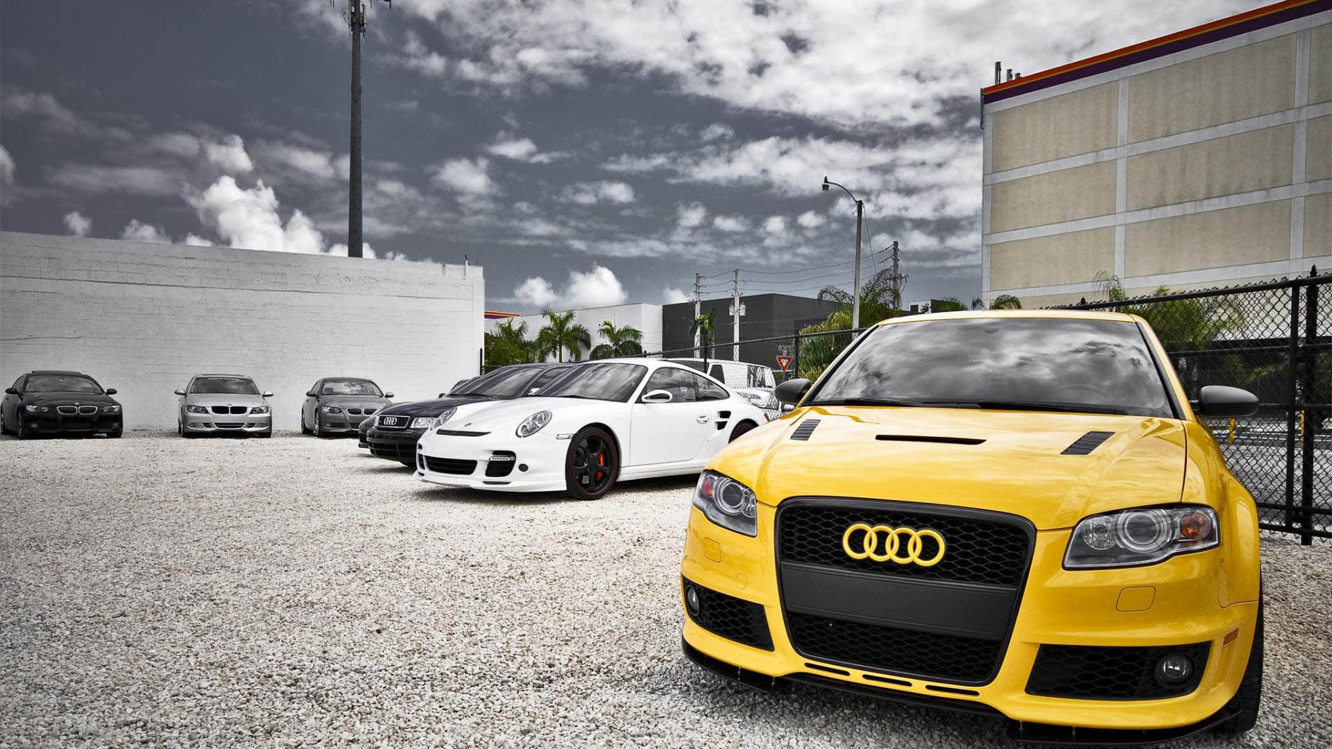 Simple Hd 1080p Car Wallpaper Yellow Audi Hd Wallpapers 1080p Collection Audi Audi Cars Audi Rs4