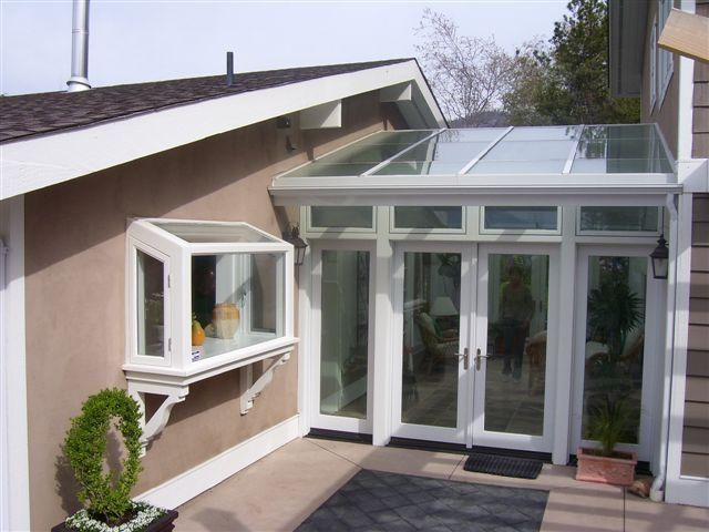 Joining detached garage google search villas for Detached sunroom