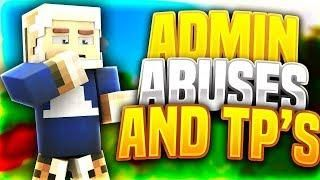ADMIN ACCIDENTALLY ABUSES AND TPS ME OUT OF A TRAP Minecraft - Minecraft factions spielen