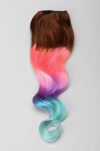 Cloud9jewels cotton candy ombre clip in hair extension beauty cloud9jewels cotton candy ombre clip in hair extension pmusecretfo Images