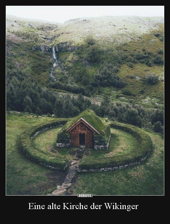 Eine alte Kirche der Wikinger.. #outdoorplätze