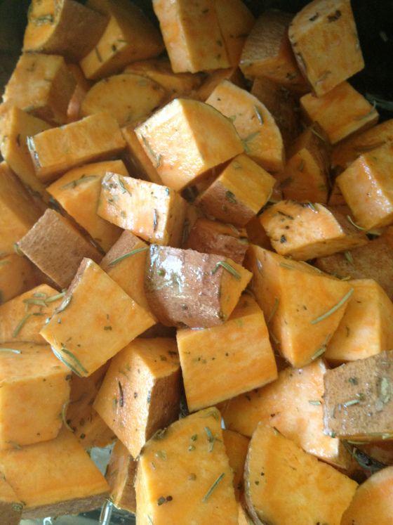 Kimberly Snyder's Ganesha's sweet potatoes