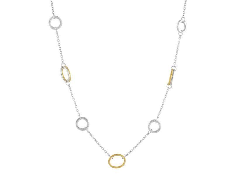 Gurhan Hoopla Short Station Necklace, 18L