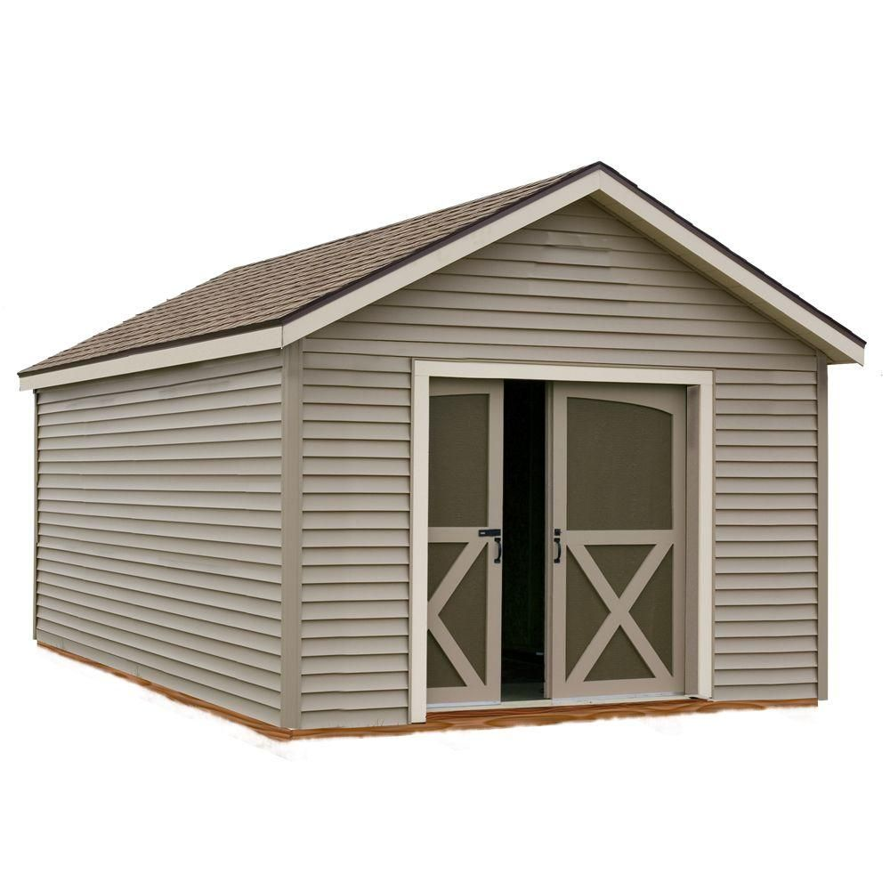 South Dakota 12 Ft X 20 Ft Prepped For Vinyl Storage Shed Kit Clear Storage Shed Kits Vinyl Storage Sheds Shed Kits