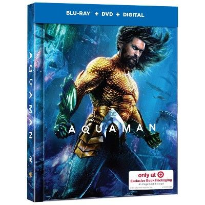 Aquaman Exclusive Blu Ray Dvd Digital Aquaman Film Aquaman Aquaman 2018
