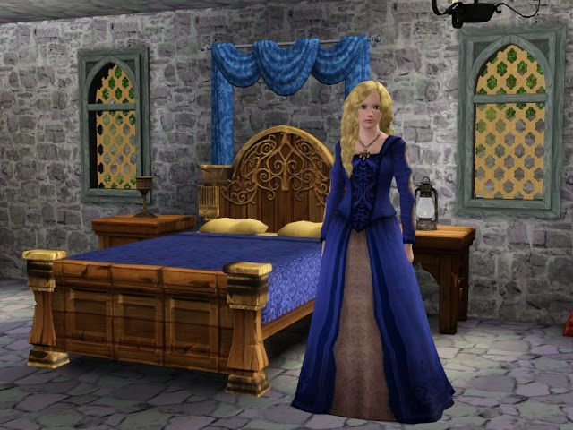 de0394a20d Sil Fantasy  Dresses from The Sims Medieval converted to The Sims 3 ...