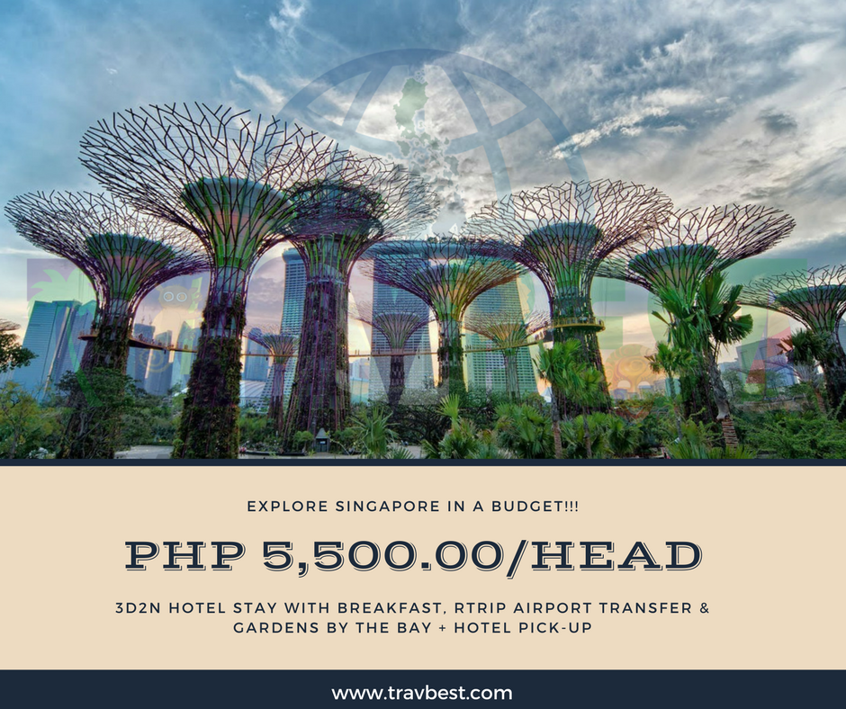 singapore with gardens by the bay tour rate as low as php 5500pax itinerary - Garden By The Bay Breakfast