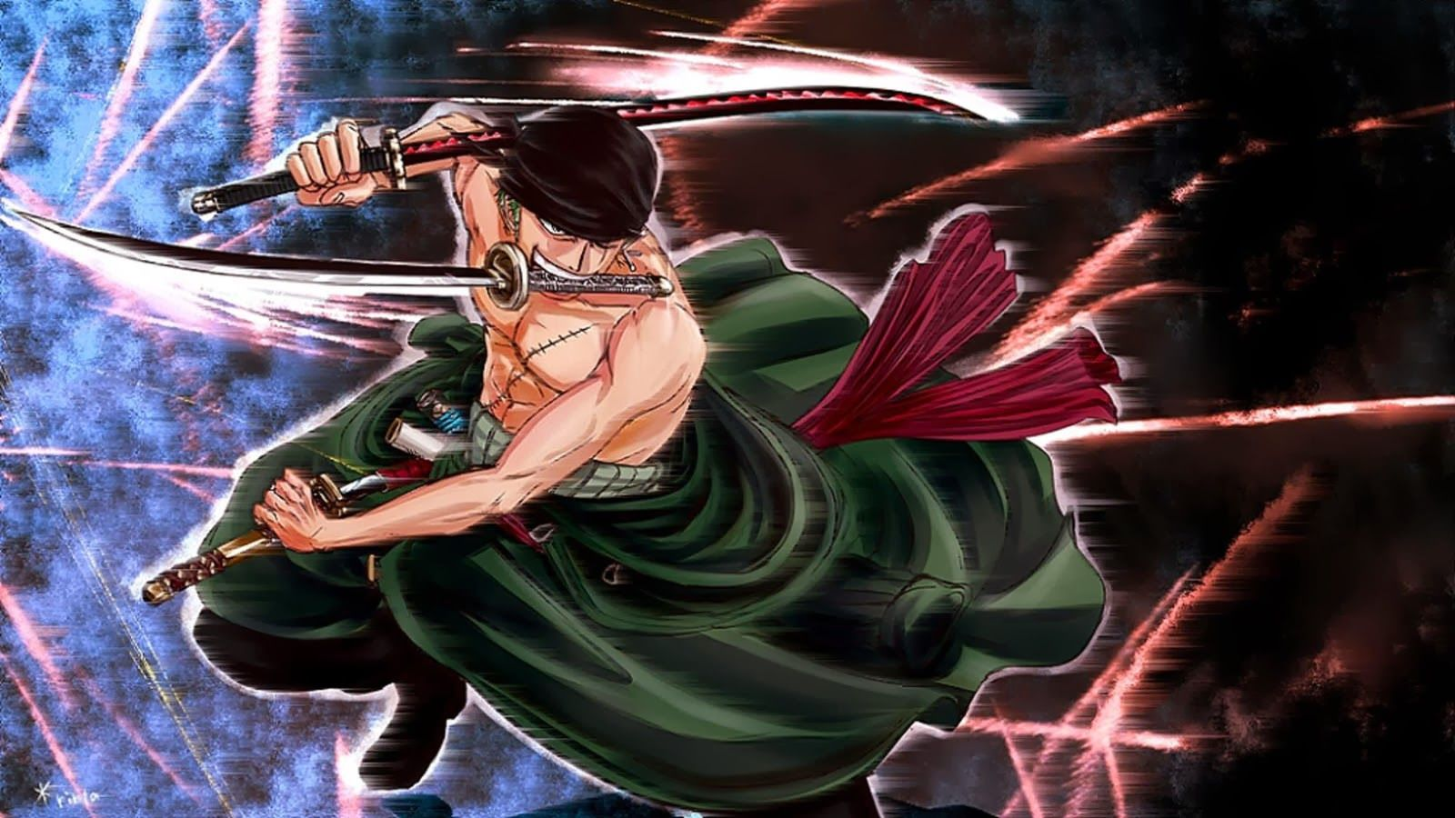 3 Sword Style Zoro One Piece 26 Hd Wallpaper Roronoa Zoro Anime Zoro