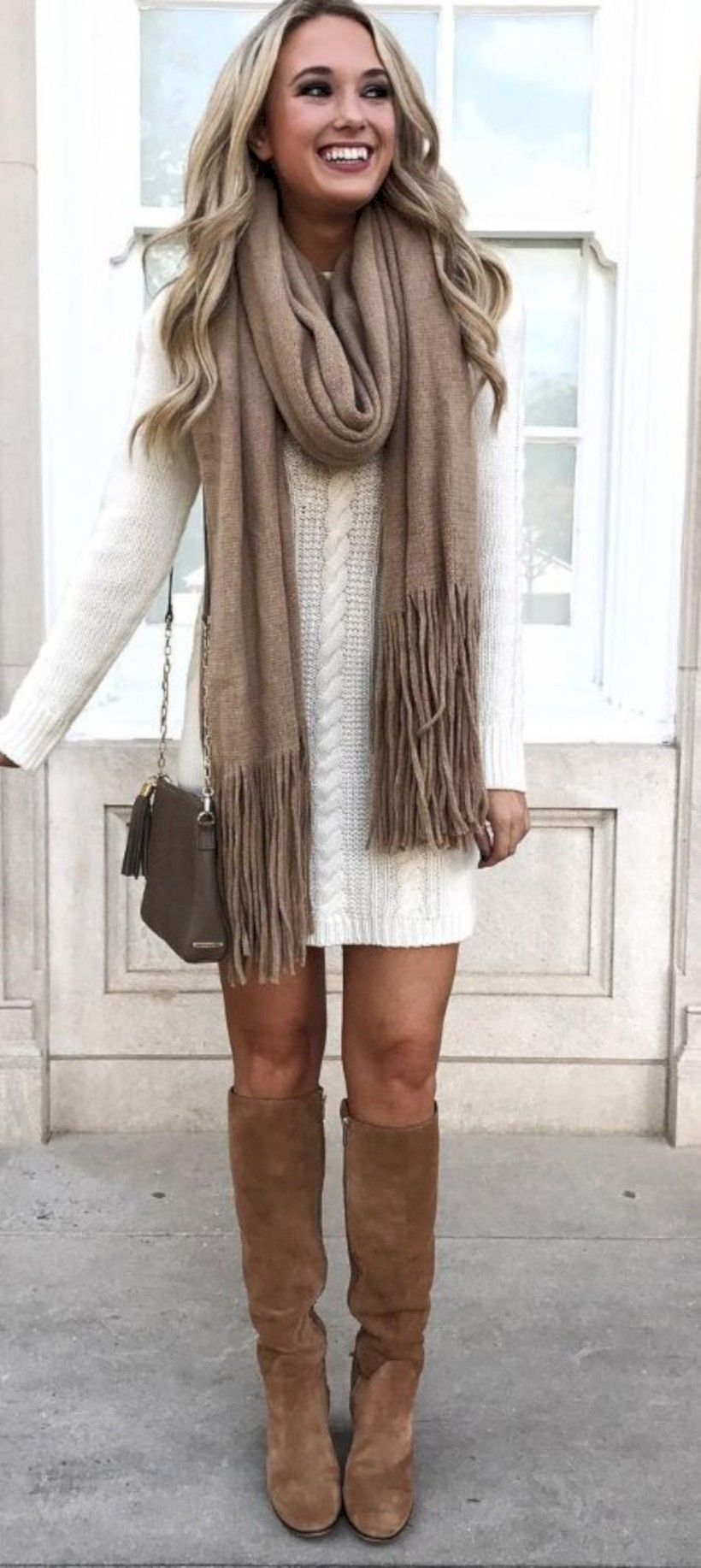 87ef5b1eac3 Cool 40 Cute Casual Winter Fashion Outfits for Women https   looksglam.com