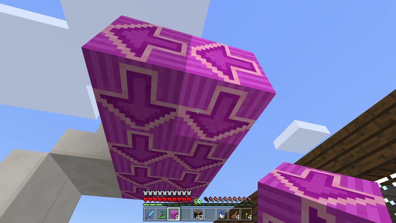 Minecraft Survival Magenta Floor Minecraft survival