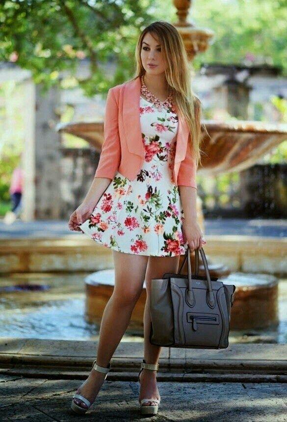 Collares para vestidos floreados largos