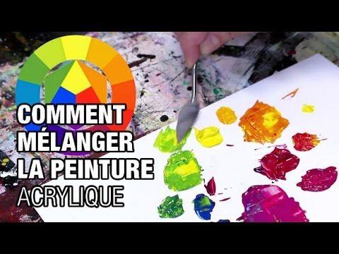 Matériel pour la peinture acrylique (pinceaux, couteaux, spalters