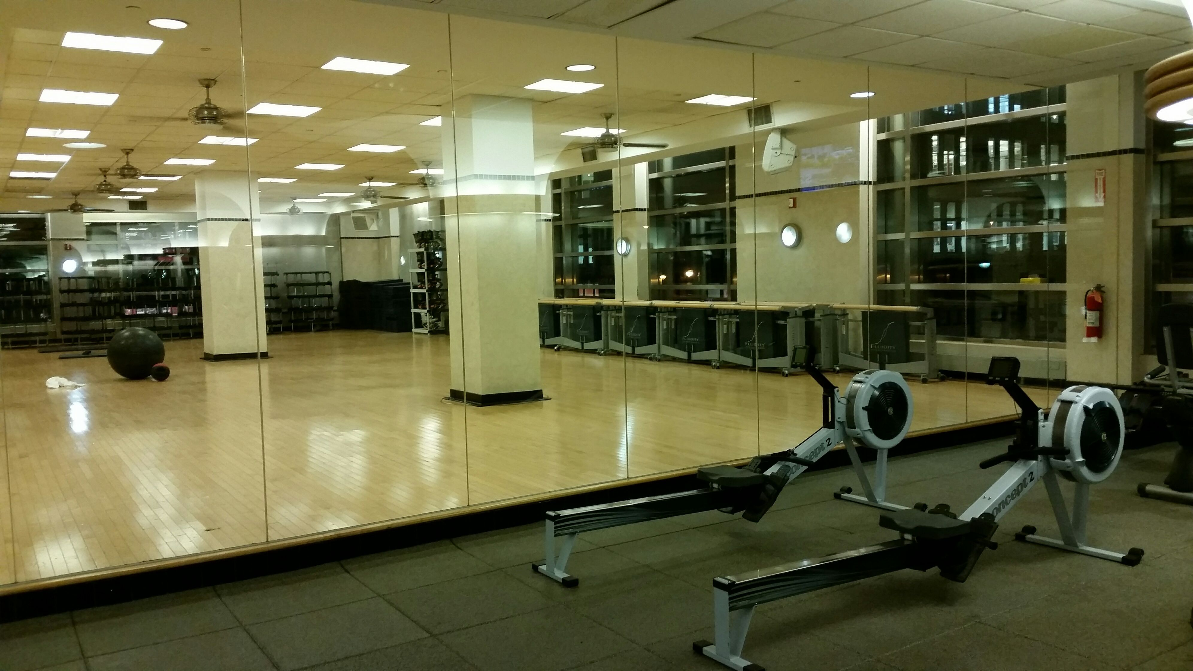 Fluidity studio barre at new york health and racquet club