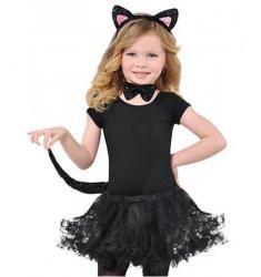 deguisement chat fille 8 ans