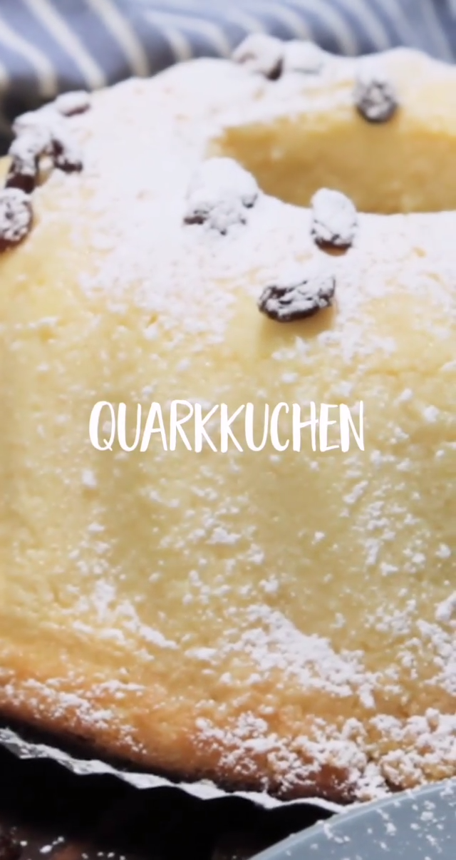 Saftiger Quarkkuchen