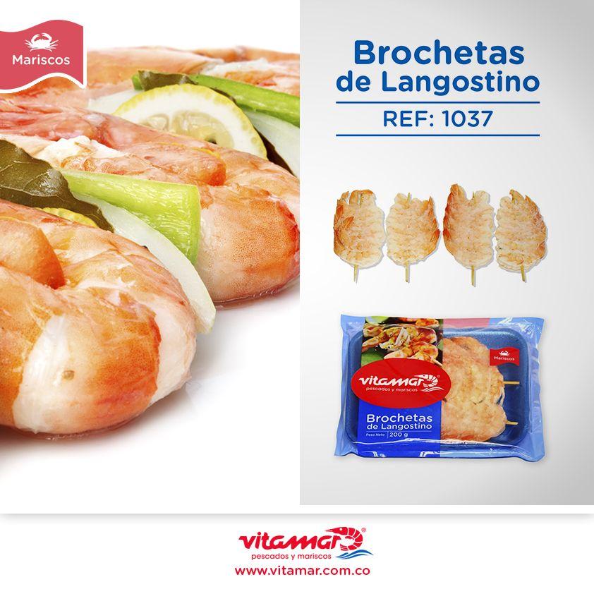 Y para hoy lo  #RecomendadoDelDia  Las deliciosas Brochetas de Langostinos de Vitamar http://vitamar.com.co/product/brochetas-de-langostino/  ¡Perfectas para cualquier ocasión! www.vitamar.com.co