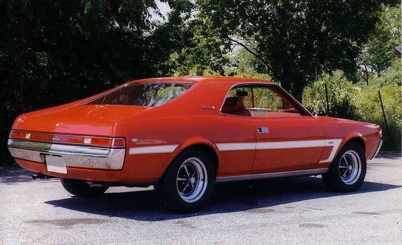File:1969 AMC Javelin SST pony car red99.jpg