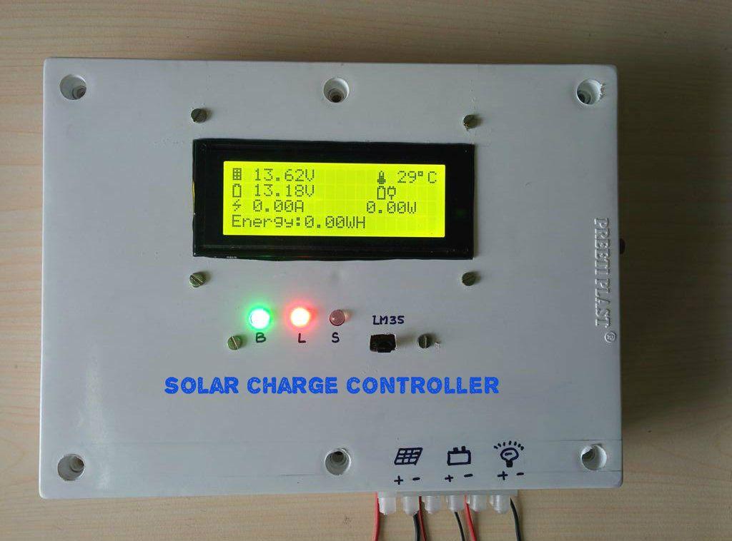 Arduino solar charge controller raspberry pi