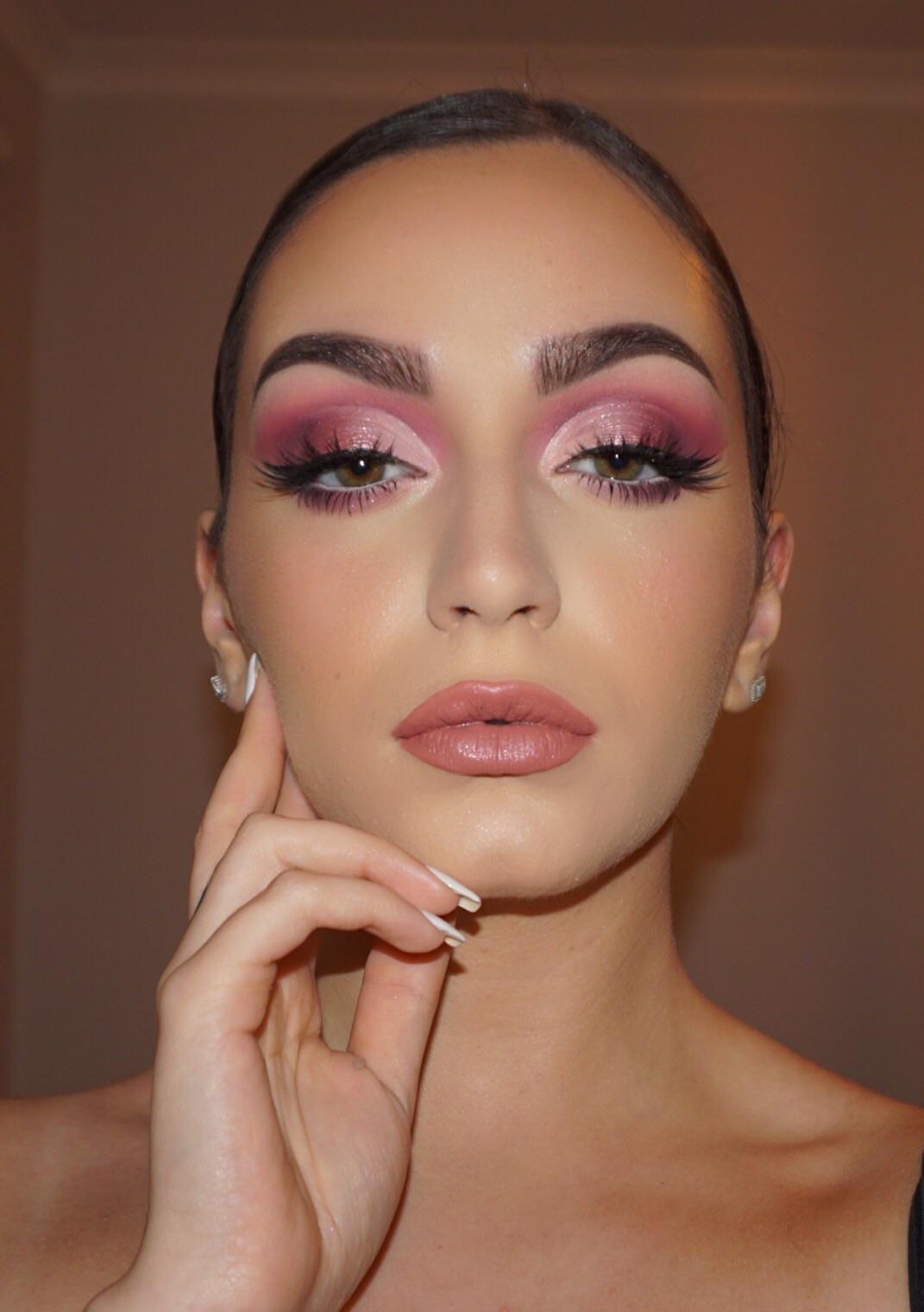Huda beauty mauve obsession palette!! #makeup #beauty ...