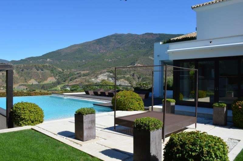 Luxury villa pool garden modern home marbella villas spain luxury rentals ibiza mallroca miami - Luxury homes marbella ...
