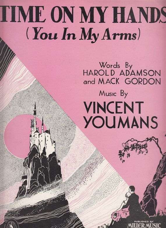 Image result for Time on My Hands sheet music