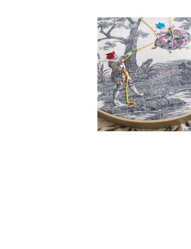 Richard Saja's art. Fantastic.  Sweet Paul Magazine - Winter 2012 - Page 40-41